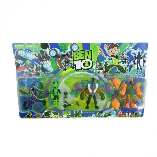 Set 4 figurine Ben 10