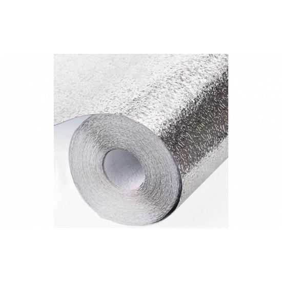 Folie de aluminiu autoadeziva bucatarie 40 x 100 cm