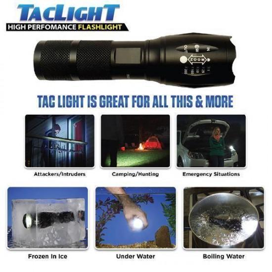 Lanterna Tac Light 5 moduri luminare