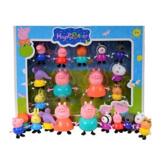 Set 11 figurine Peppa Pig