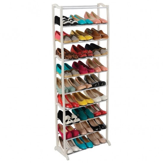 Suport Raft pentru Depozitare Incaltaminte, Capacitate 30 Perechi de Pantofi