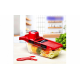 Razatoare multifunctionala pentru legume si fructe 5 in 1