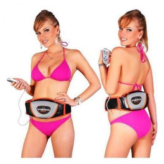 Centura unisex cu vibratii pentru slabit si masaj, model VibroShape